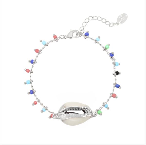 armband-zilver-kleurrijk